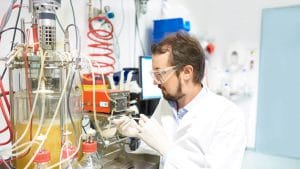trenzyme's scientific expert for custom recombinant protein expression on a fermenter